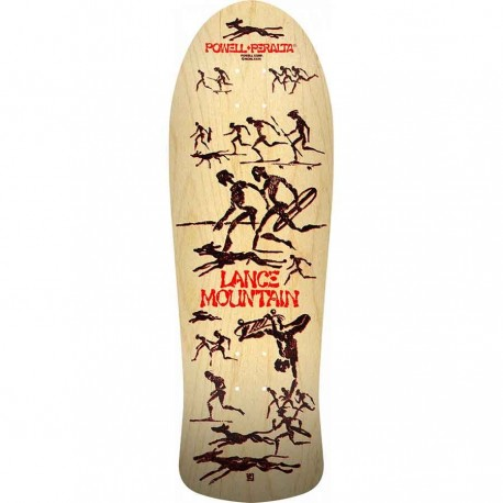 Powell Peralta  LTD Bones Brigade Series 11 Lance Mountain FP Re-Issue Deck - Natural 9.94x30 - Pre-Order